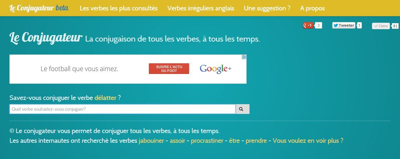 Le Conjugateur Conjuguer Tous Les Verbes Tous Les Temps Verbe Verbes Irreguliers Anglais Verbes Irreguliers