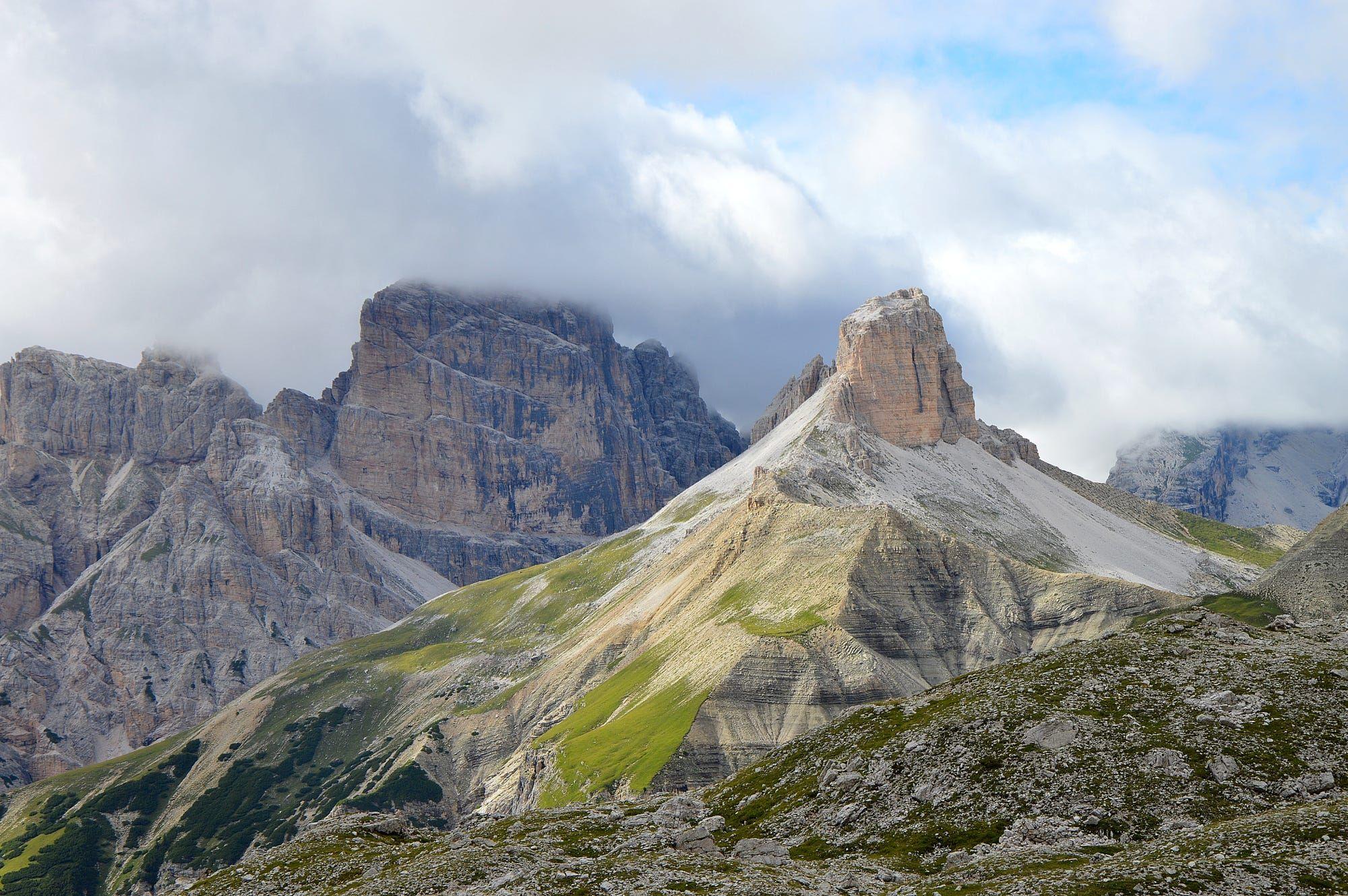 Vista dolomiti da sentiero Locatelli , parco naturale tre cime di Lavaredo by Renato Vettoretti on 500px