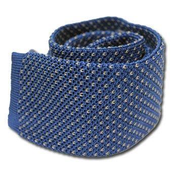 Light Blue Knit Tie