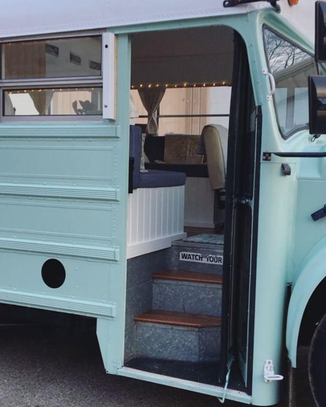 Fern The Bus School Bus House Bus Conversion Bus Living