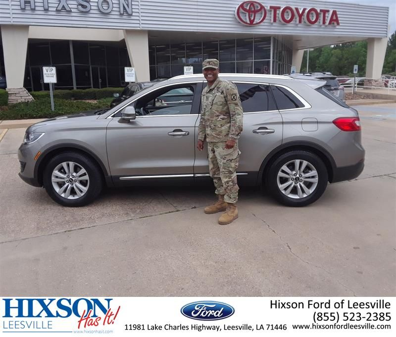Congratulations Calvin On Your Lincoln Mkx From Edward Mills At