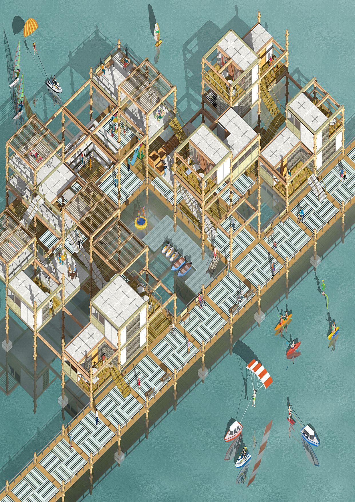 New Pilot Cities by Eleni Pourdala is part of Landscape architecture model -