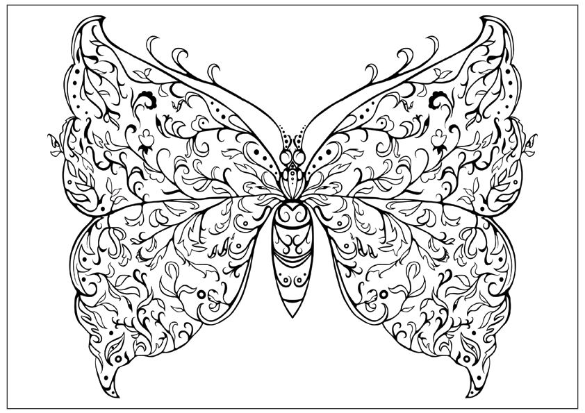 Dover Flowers Inspirational Coloring Pages Flower Design Floral ...