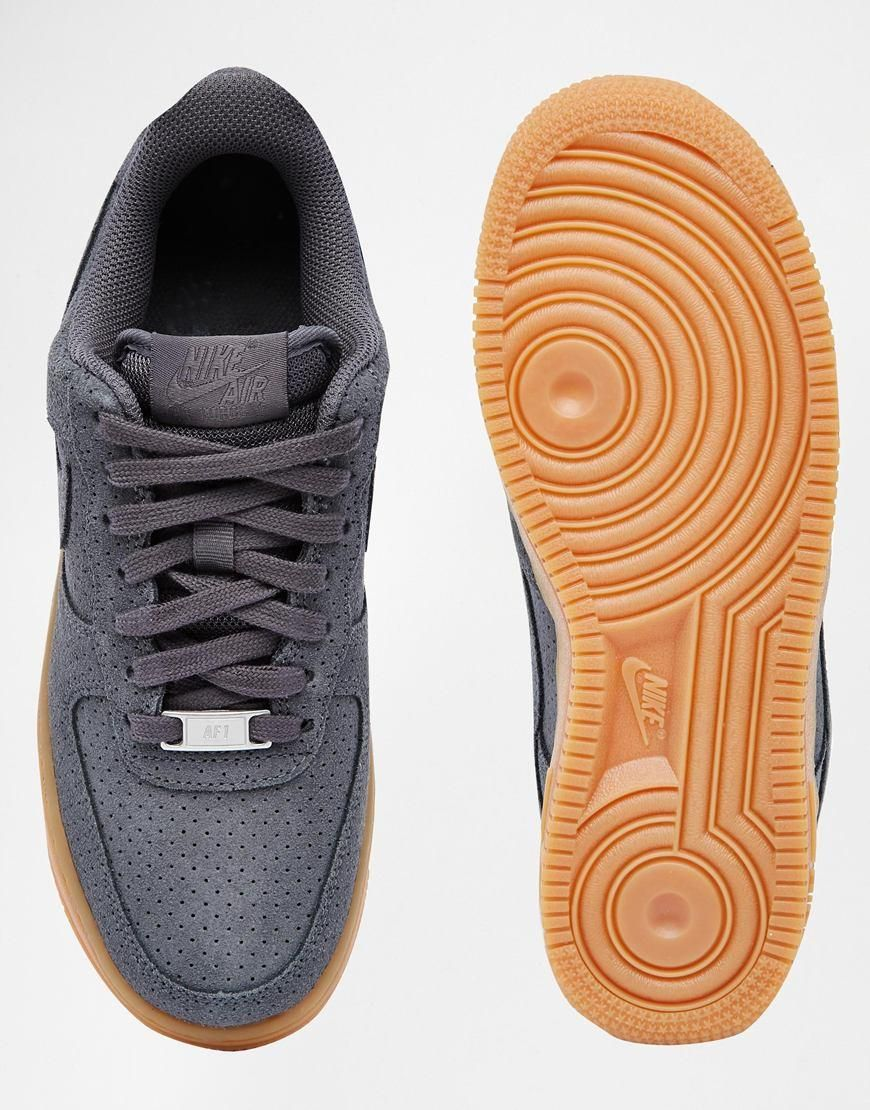 Force Suede 07 At NikeAir Trainers 1 Grey Sneakers Asos nPNOkZX80w