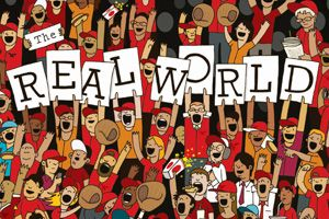the real world - alex eben meyer / illustration