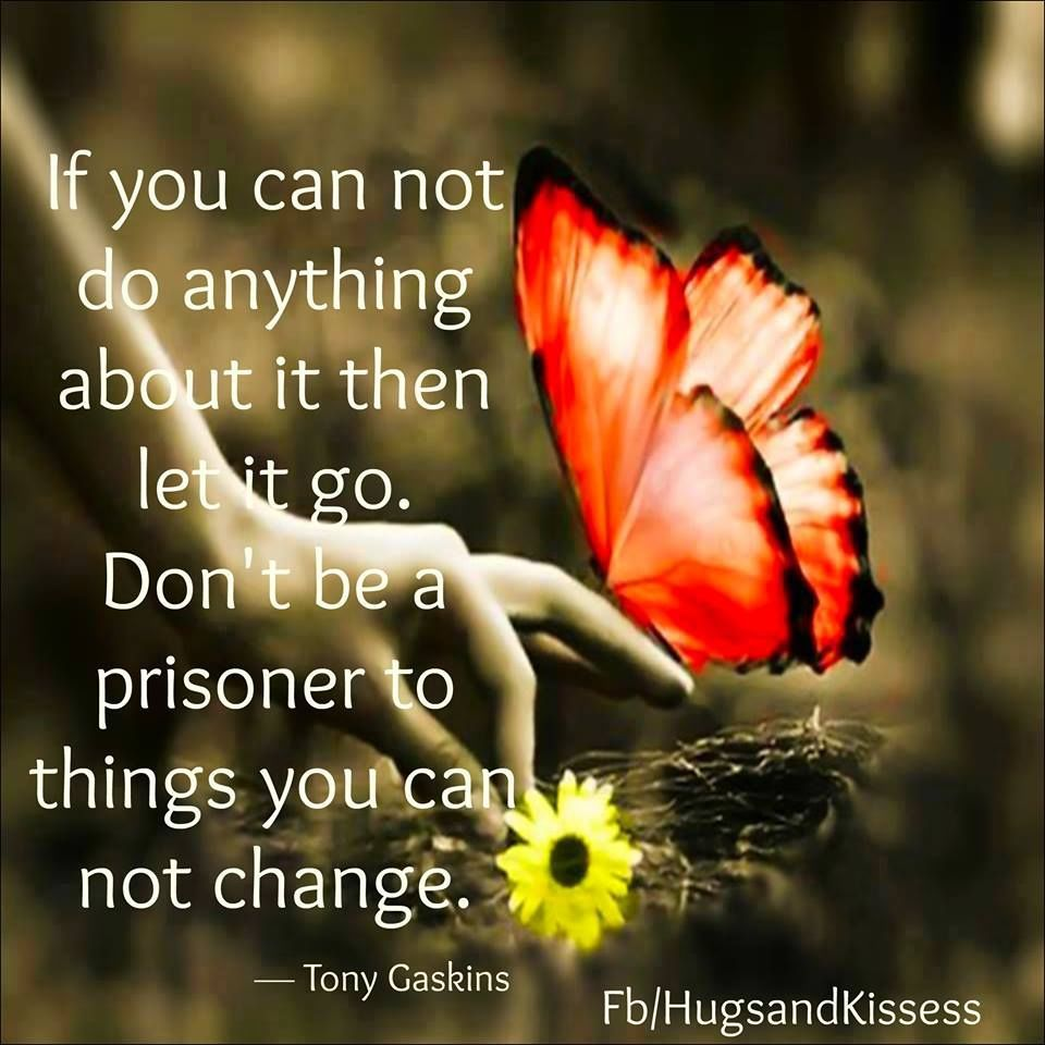 If You Can Not Do Anything About It Let It Go