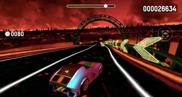 Drive Any Track is a fastpaced music based racing game