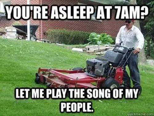 Funny Joke Pictures Funny Lawn Mower Joke Meme Picture Funny Images Funny Funny Pictures