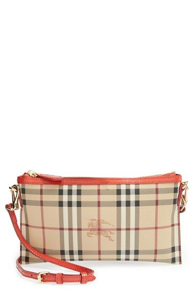 f5bf85a313c0 Burberry  Peyton - Haymarket Check  Crossbody Bag available at  Nordstrom