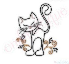 Siluetas De Gatos Para Tatuar Ana
