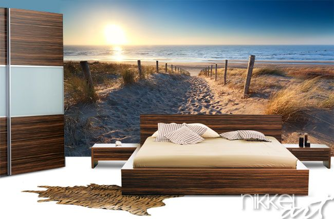 Fotobehang strand kinderkamer pinterest slaapkamer fotobehang en muur - Decoratie kamer slapen schilderij ...