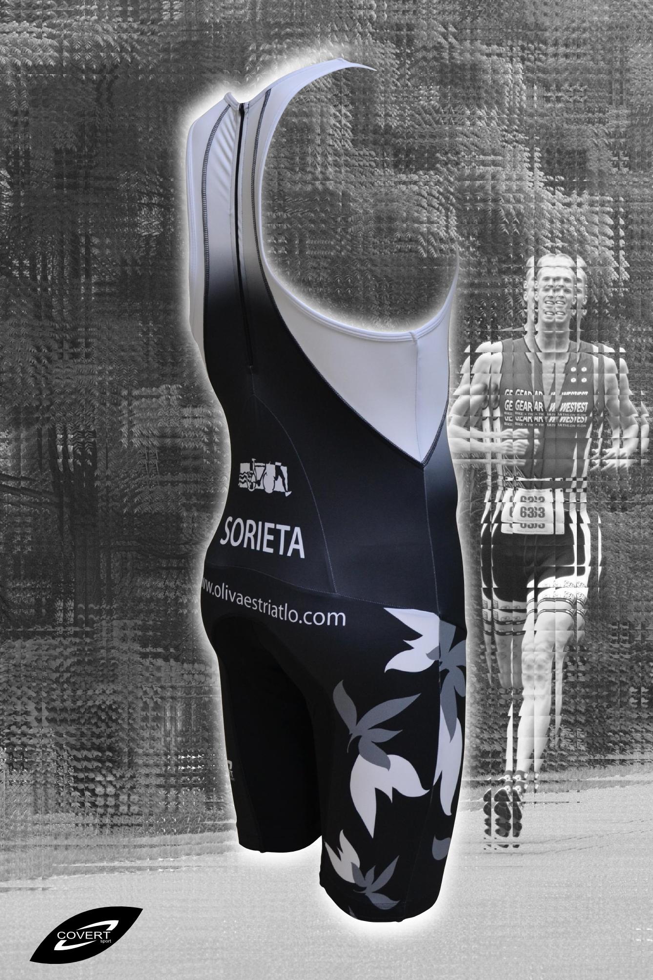 Tritraje; Mono triatlón personalizado, Covert Sport, Ropa Deportiva Personalizada