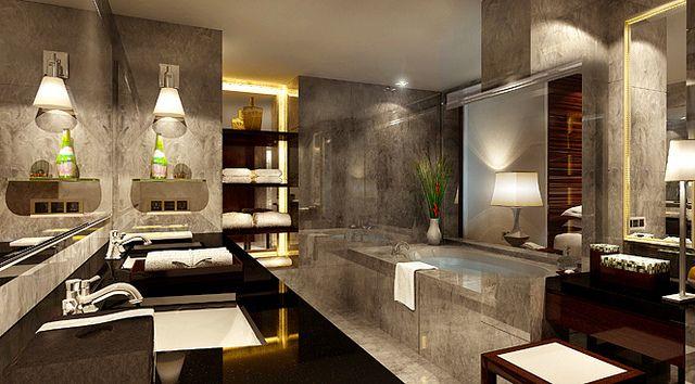 Superior Bathroom At Mandarin Oriental Jakarta Flickr Photo Sharing Luxury Classic Bathroom Beautiful Bathrooms Interiors Dream Luxury hotel bathroom in jakarta