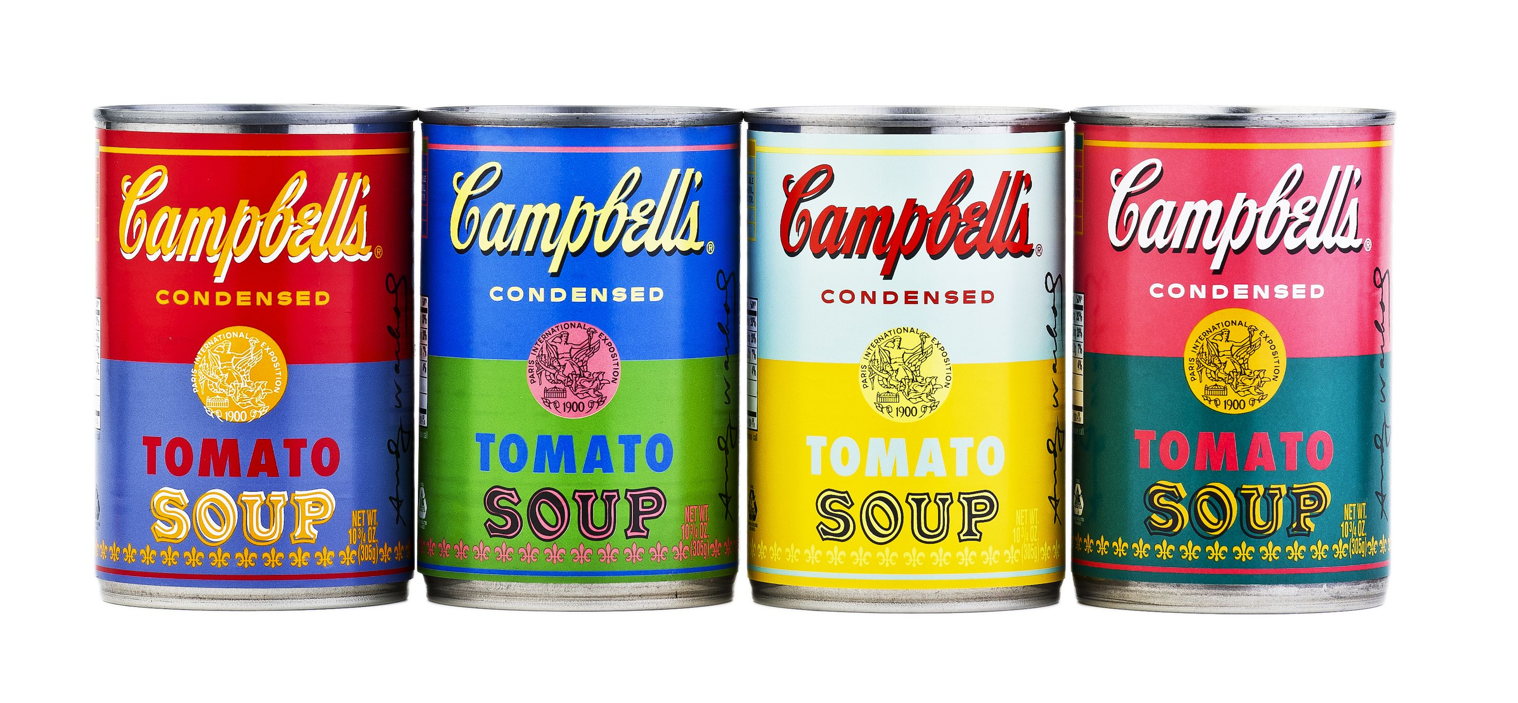 Campbells Soup Limited Edition Cans Andy Warhol Soup Cans Campbell Soup Campbell S Soup Cans