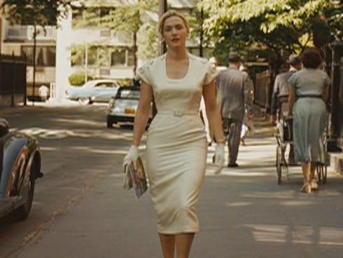 Kate winslet white dress revolutionary road book