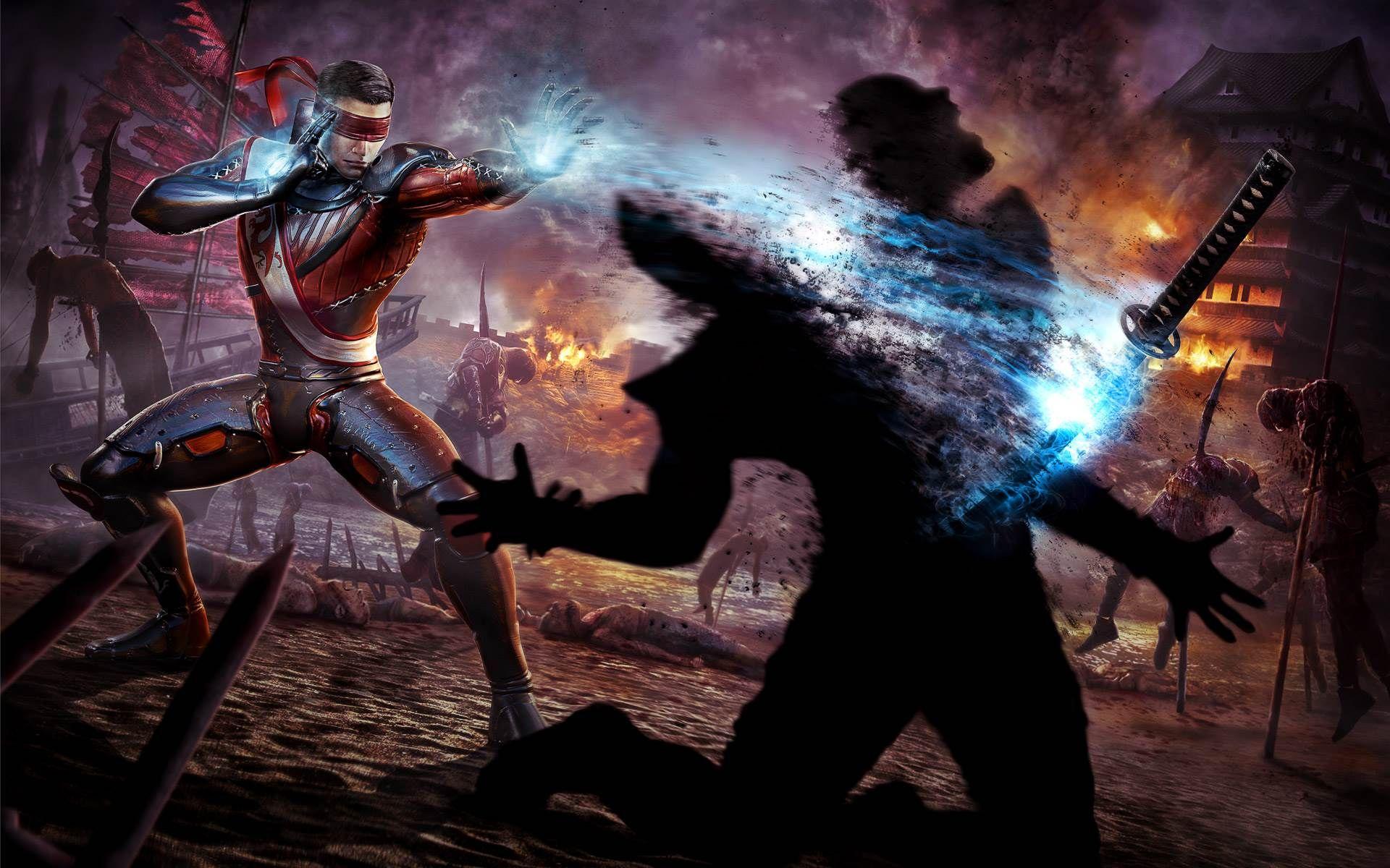 Mortal Kombat X Subzero Vs Scorpion Hd Desktop Wallpaper High