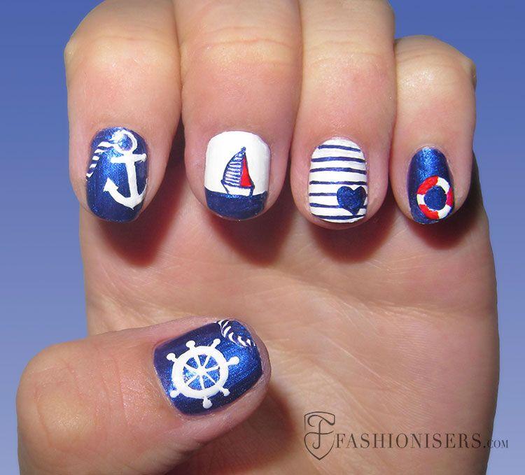 20 Fun Summer Nail Art Designs | Pinterest | Summer nail art