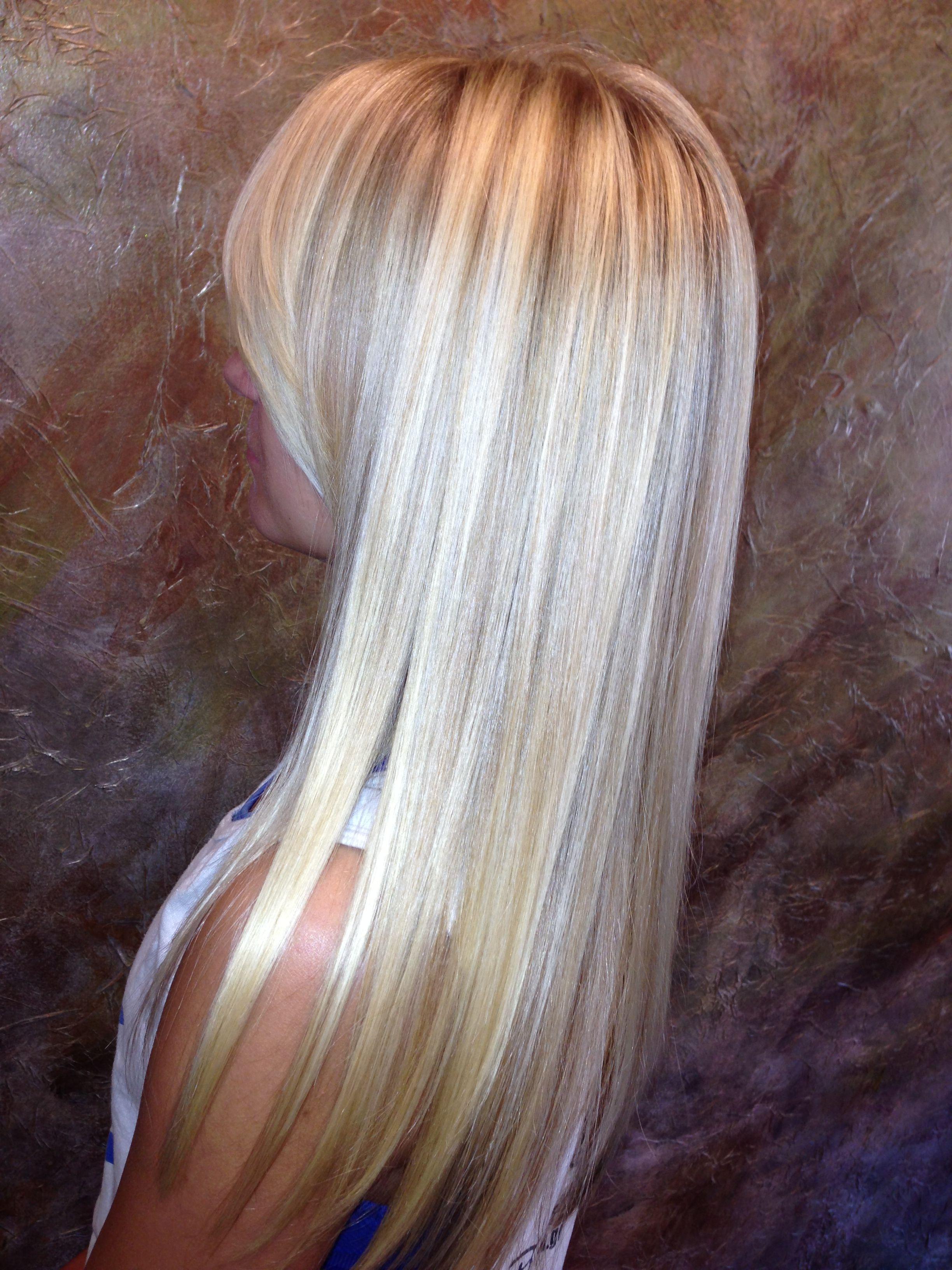 Summer blonde highlights beauty luscious locks pinterest