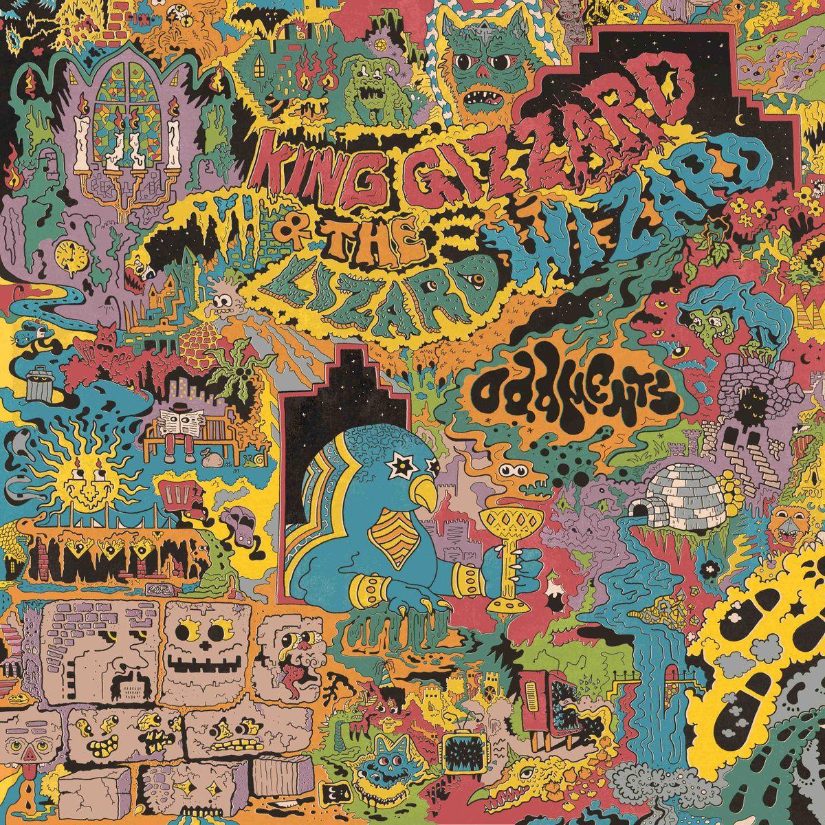 Oddments King Gizzard The Lizard Wizard Album Cover Art Album Art Art