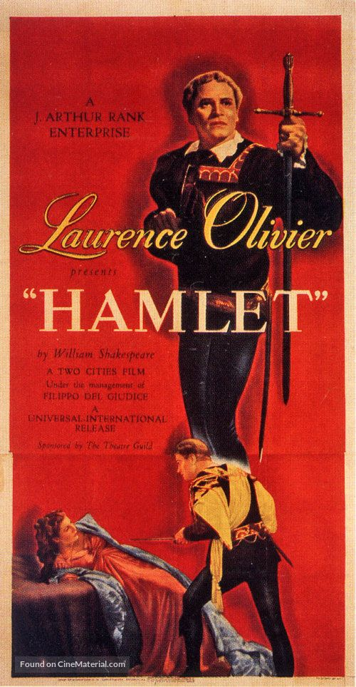 Hamlet, 1948; shared by Aragon Entertainment http://www ...