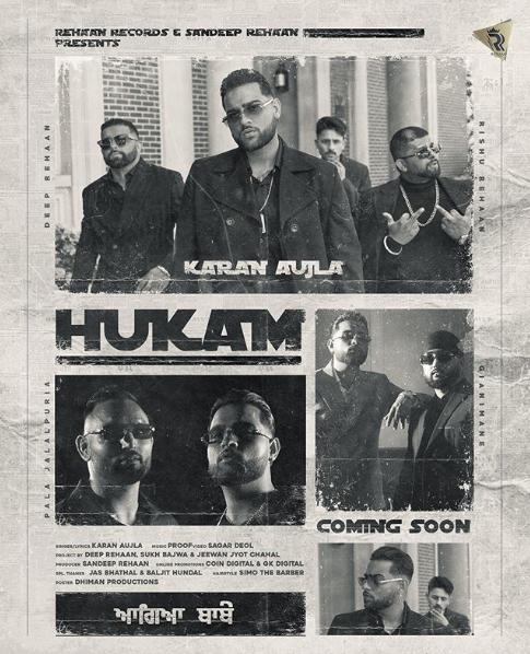 Hukam (Karan Aujla) new song mp3 download