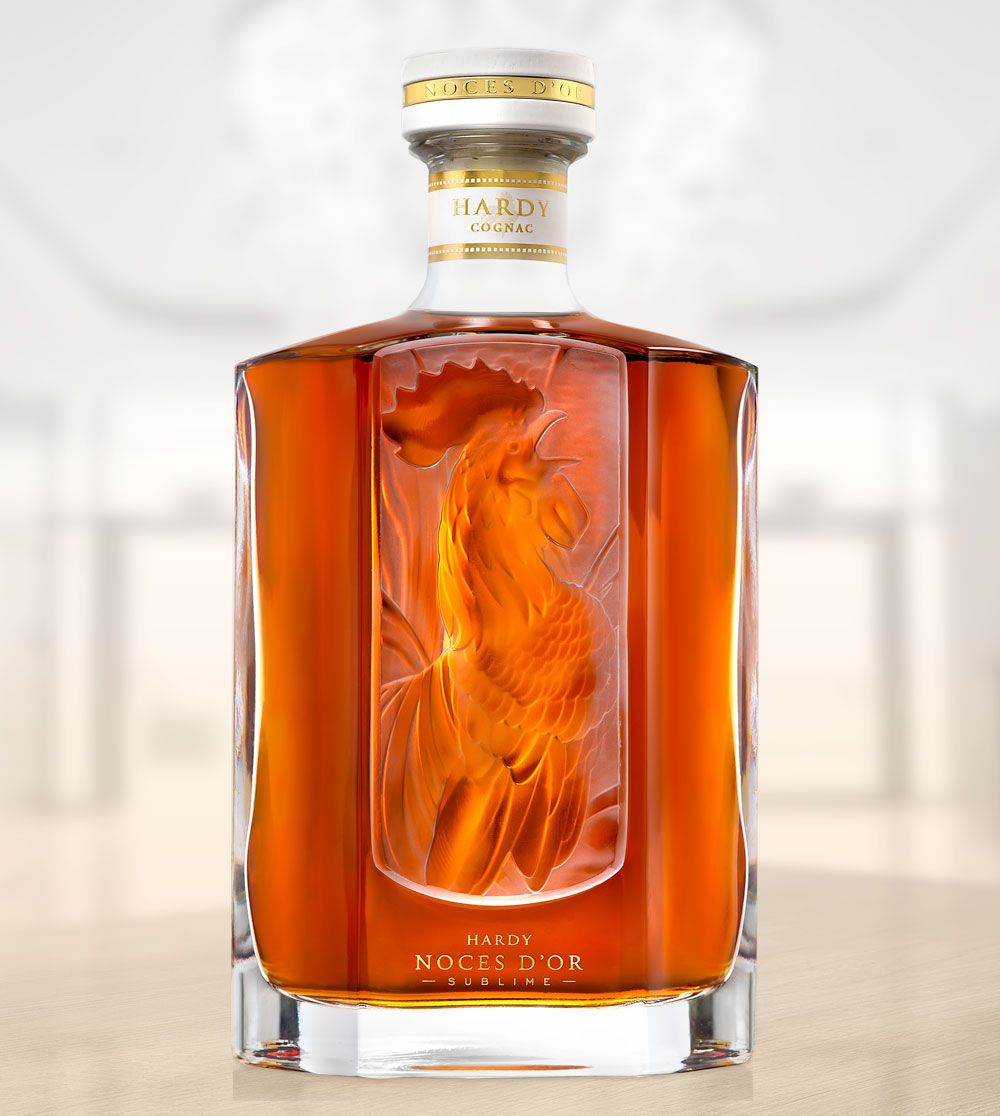 Cognac Hardy Noces D Or Sublime Cognac Creative Packaging Design Wine And Spirits