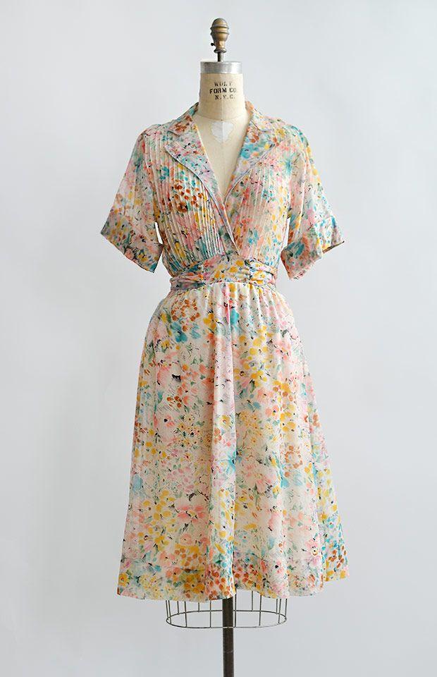 vintage 1960s vibrant print Jonathan Logan dress
