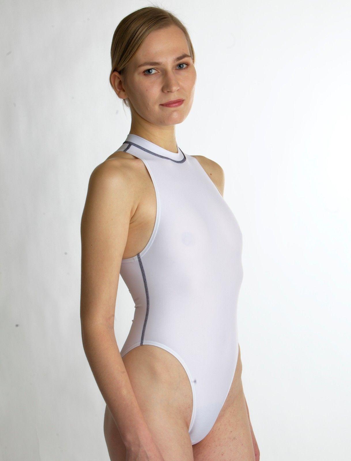 Badeanzug/Schwimmanzug Hydrasuit Neu weiß Größe 42 ...