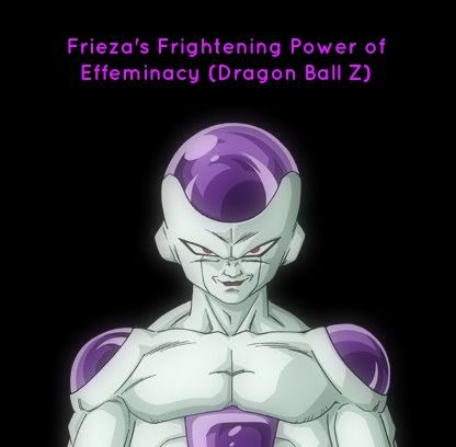 Ever Wondered About How Dragon Ball Z S Frieza Was Different Than Goku In Terms Of Effeminacy Check Out My Loo Dragon Ball Dragon Ball Z Anime Dragon Ball