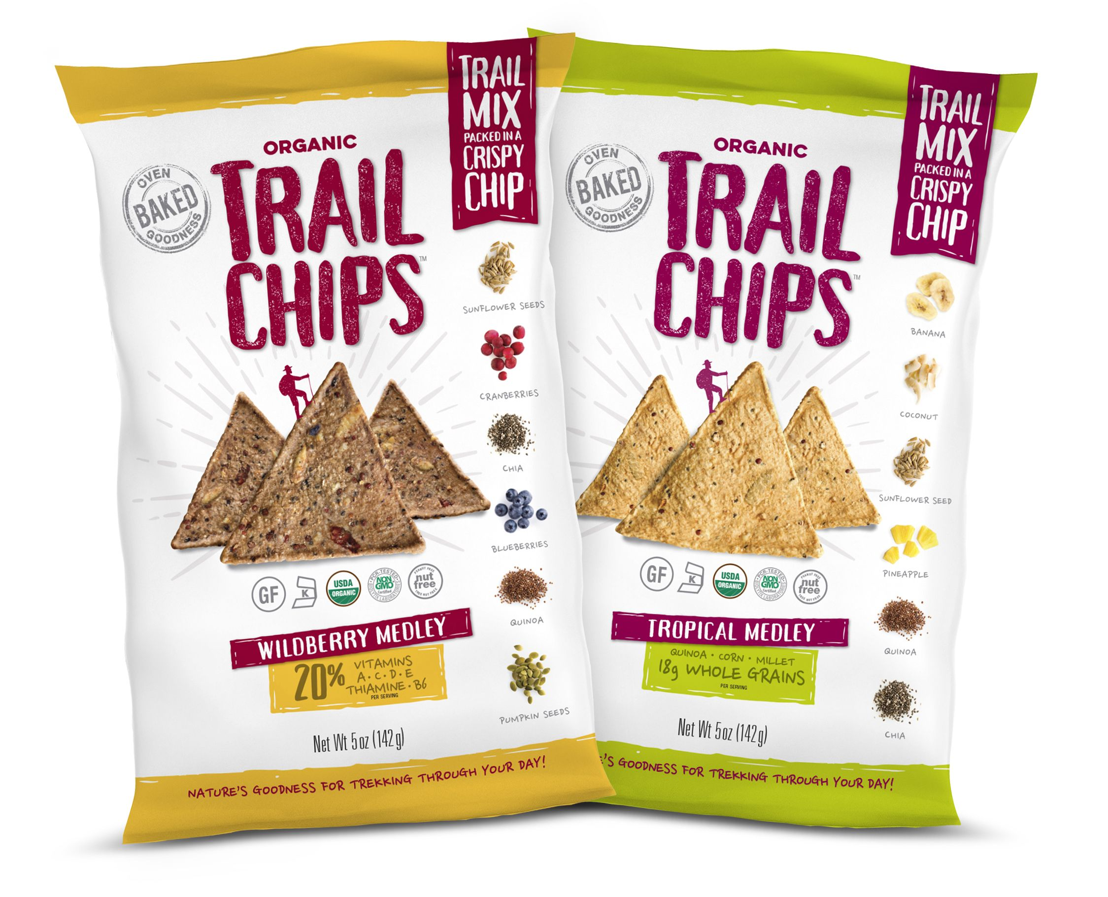 Coming soon to a store near you! Think trail mix packed in