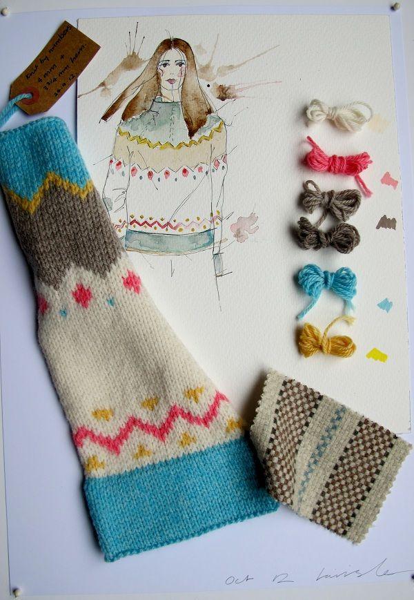 knitting | Fair Isle & Intarsia | Pinterest | Tejido noruego, Tejido ...