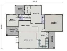 Image result for single storey flat roof house plans in ...