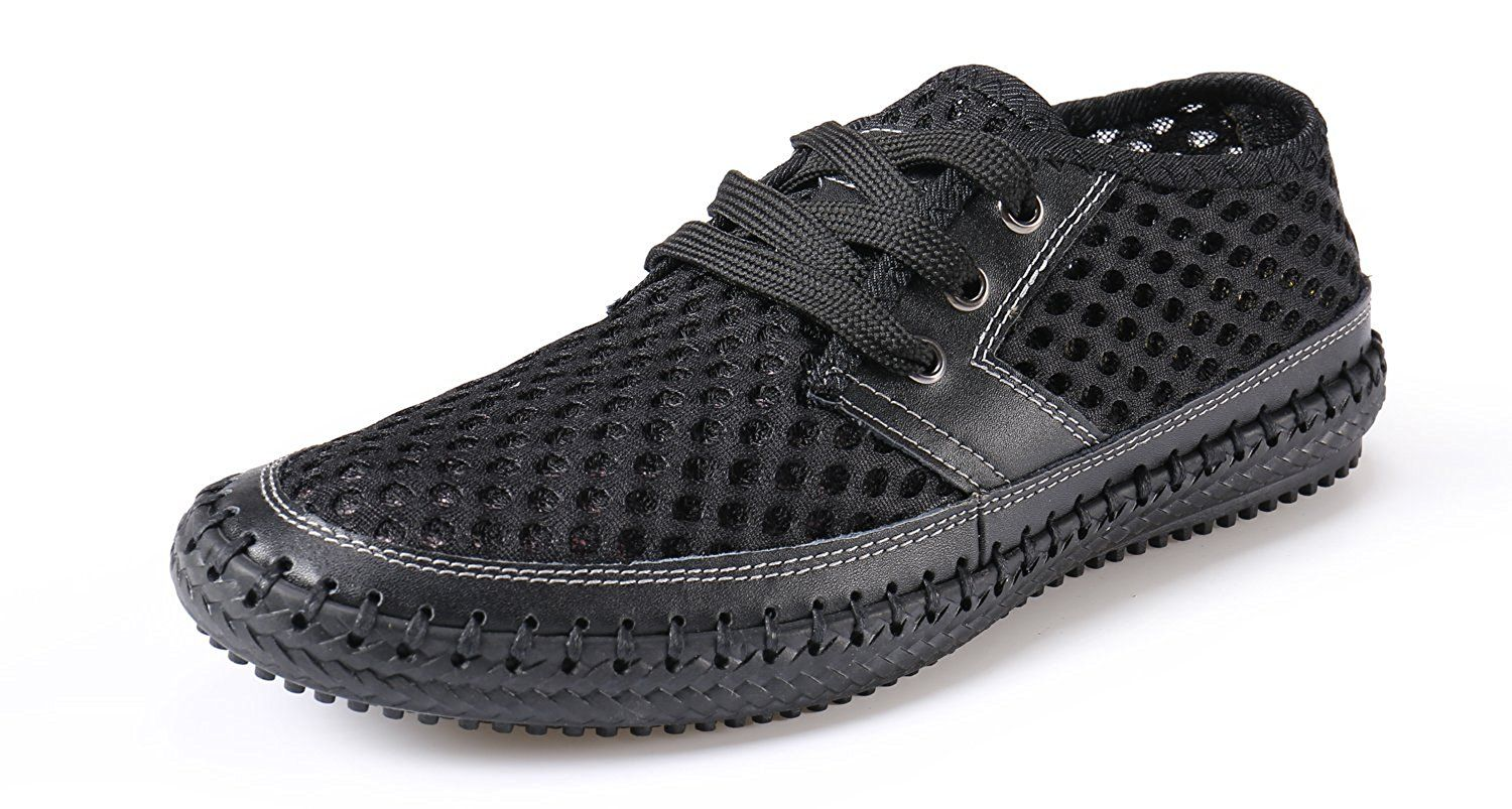 16a57bc08e774 Norocos Women's Water Shoes Mesh Casual Walking Shoes Slip-On ...
