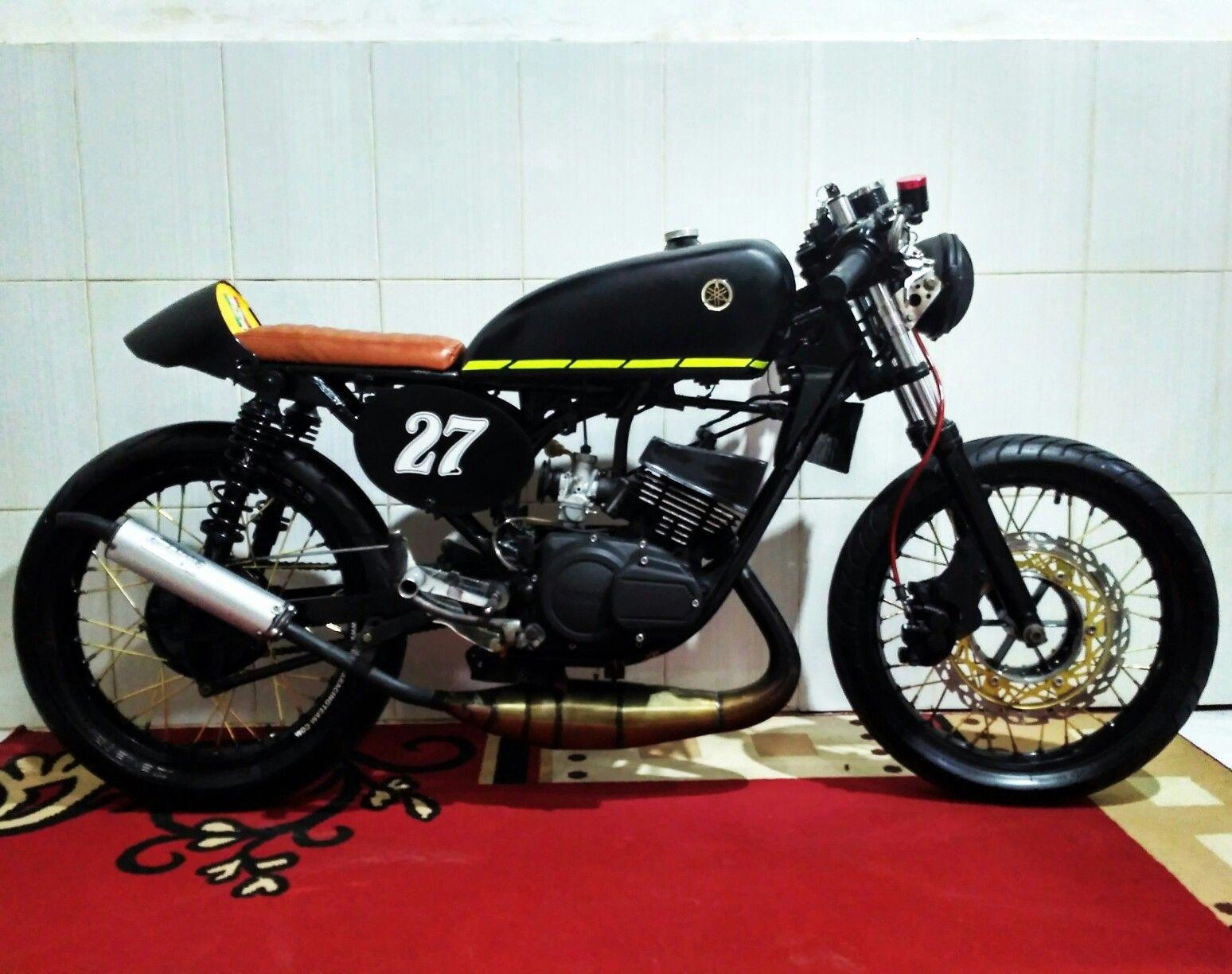 80 Kumpulan Motor Cafe Racer Rx King Modifikasi Motor