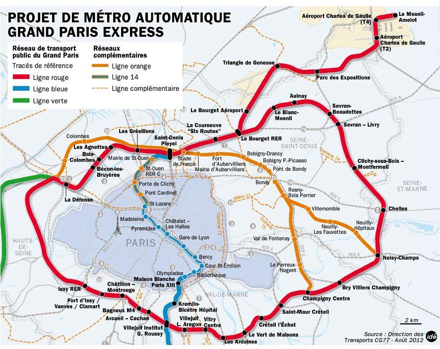 Projet Du Grand Paris Conseil General De Seine Et Marne