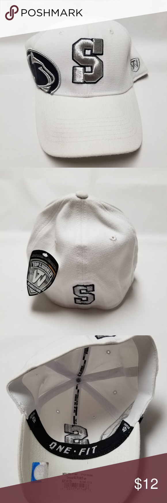 new products 73a76 9ab53 Penn State Nittany Lions fitted hat. Brand new. Top of the World  Accessories Hats