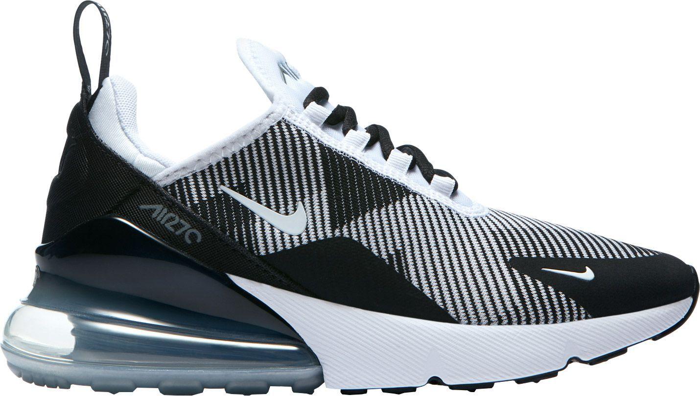 5a58a78a45cd7 Nike Kids  Grade School Air Max 270 Knit Jacquard Shoes