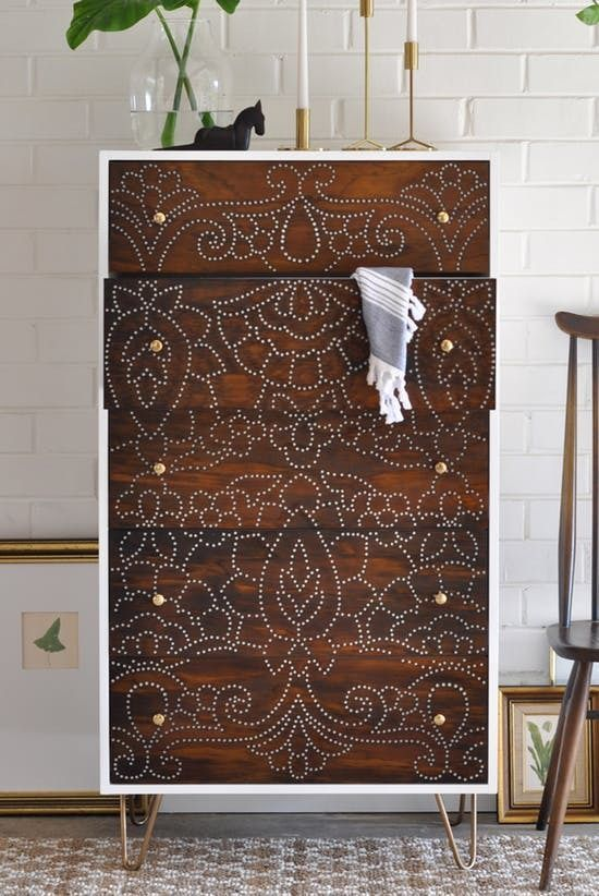 Dramatic Before & After: Repurposed Dresser Tutorial