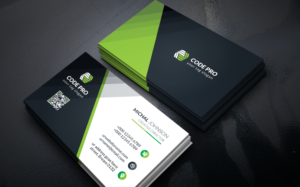 Business Card Design Corporate Identity Template 67753 Business Card Design Card Design Business Cards