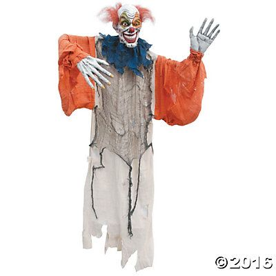 Hanging Creepy Clown