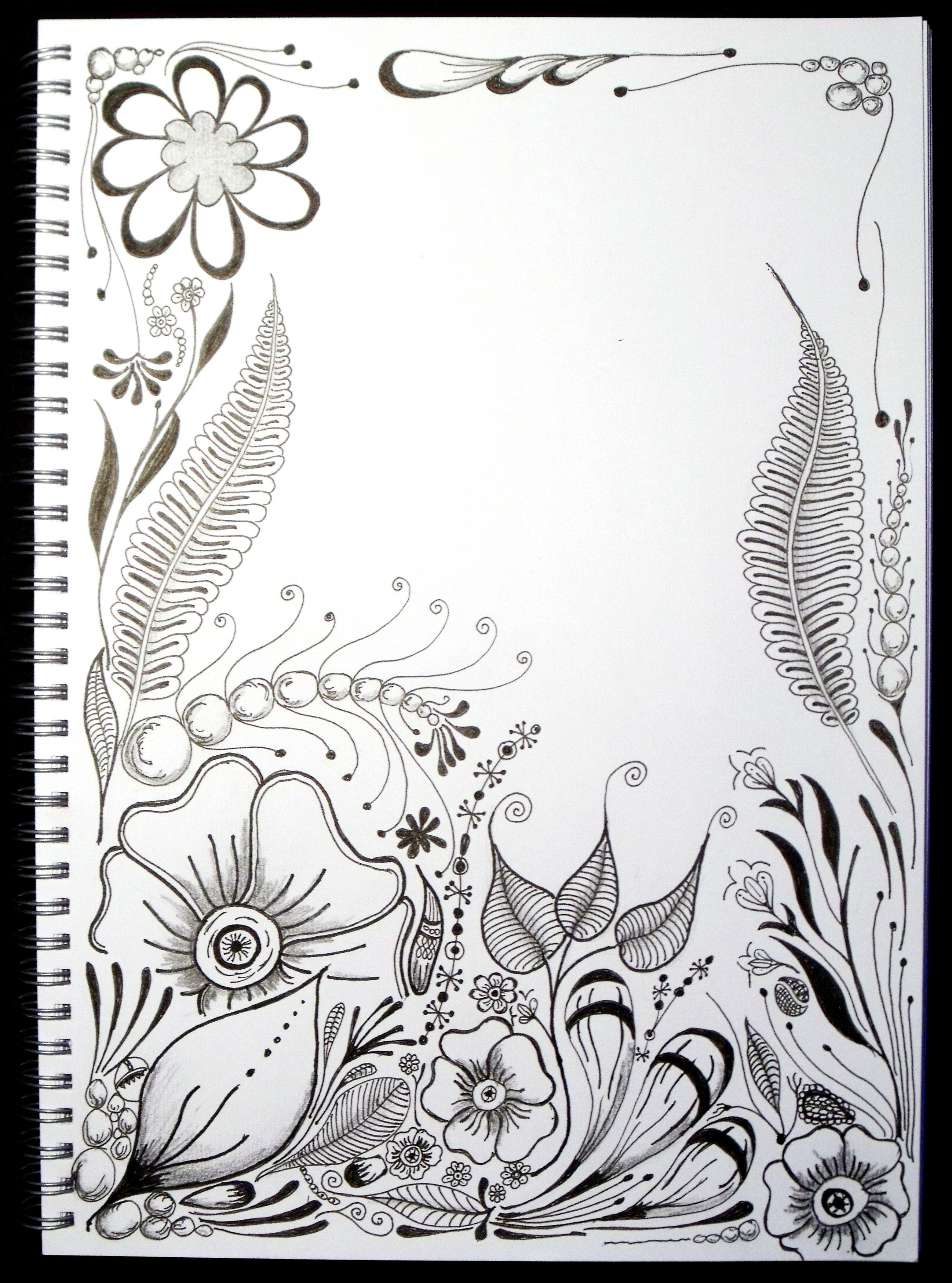 1000 Images About Dibujos Zentangle Vs On Pinterest