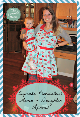 Mommy and Me Apron Set Review by The Pierogie Mama