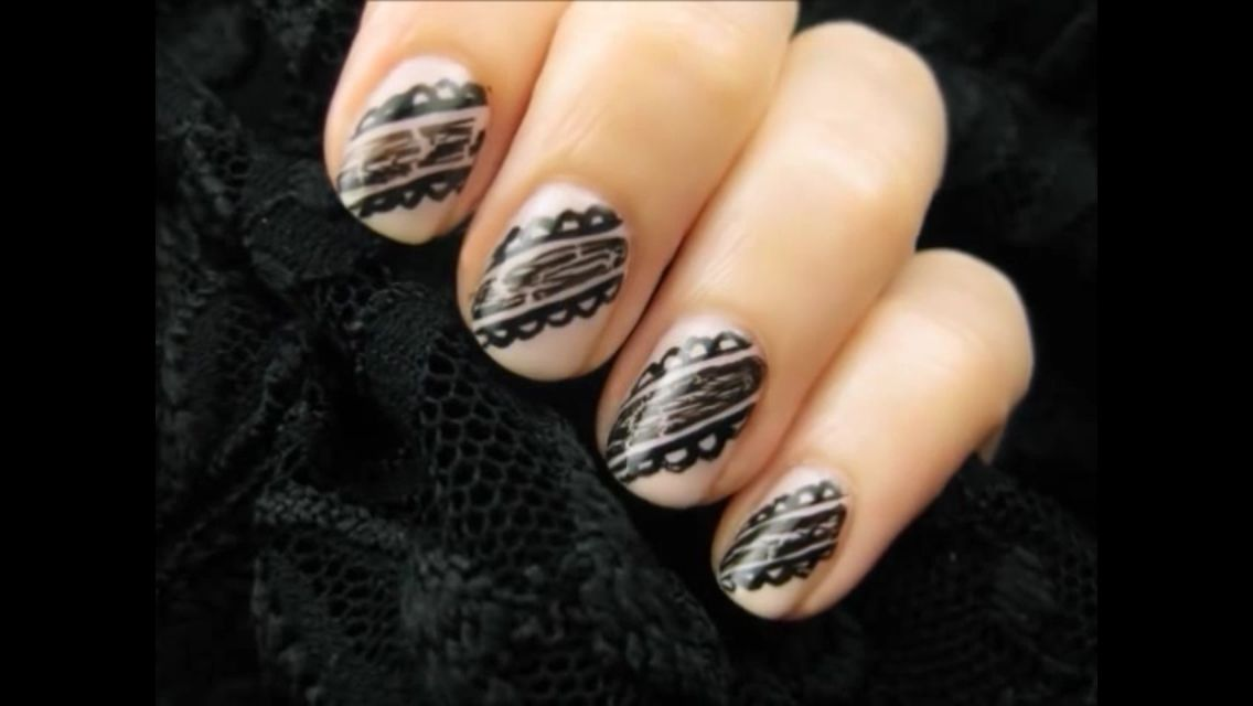 Cutepolish | Lace nails, Lace nail art