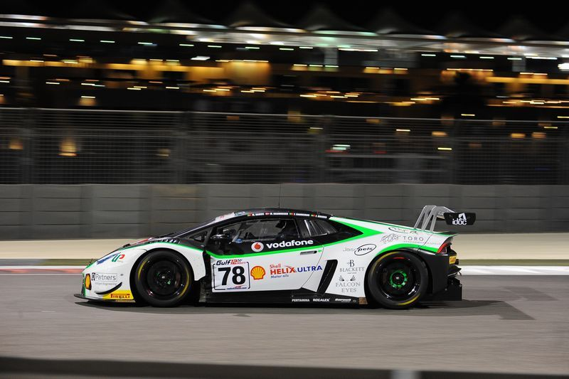 Barwell Motorsport 2016 Gulf 12 Hours Abu Dhabi (With