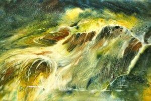 Mes Eaux Vives Paysage D Eau Paysages Abstraits Art Aquarelle