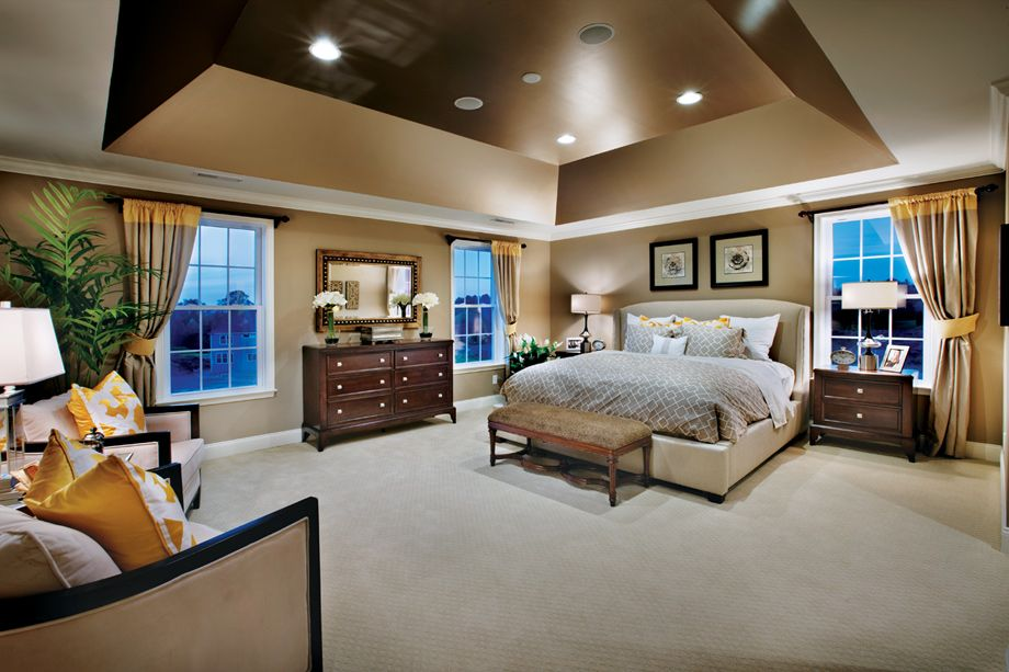 Toll Brothers Master Bedroom | Home, Home bedroom, Master ...