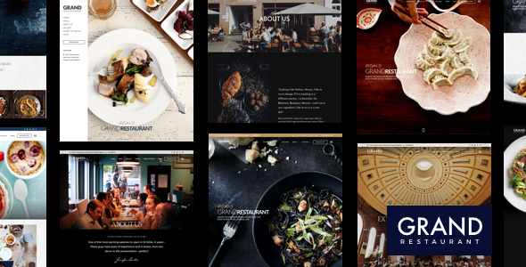 Grand restaurant rest wordpress plugins bakery burger cafe grand restaurant restaurant cafe theme free download forumfinder Image collections
