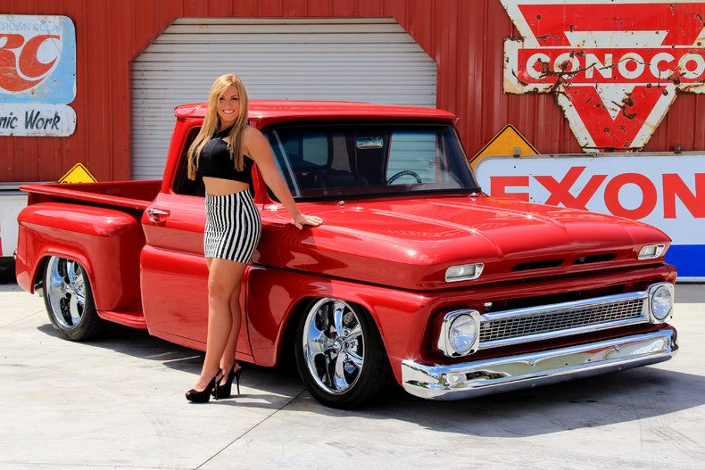 1966 Chevrolet C10 Now Focus On The Pickup Not The