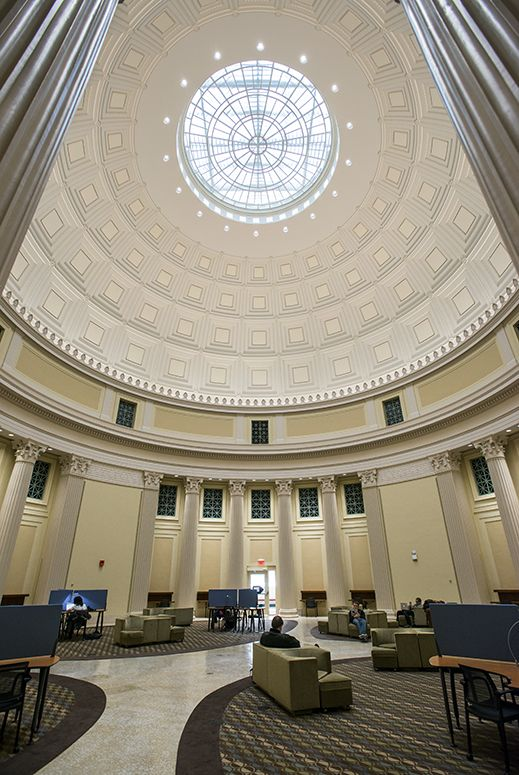 Mit Reopens Oculus Atop Great Dome Architecture Classical Architecture Dome