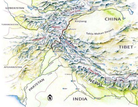 Hindu Kush Prototype Vedic Tibetan Deities And Kunlun S Mountain